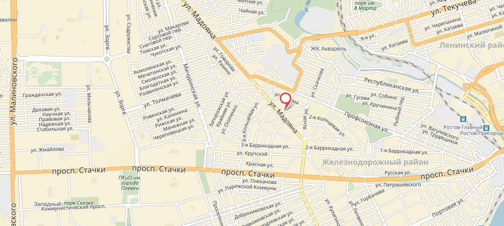 наркологический центр на карте