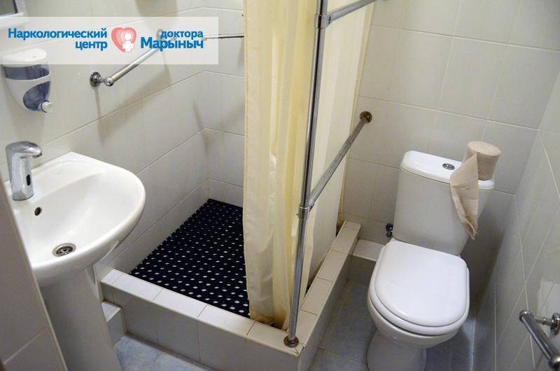 туалет центра